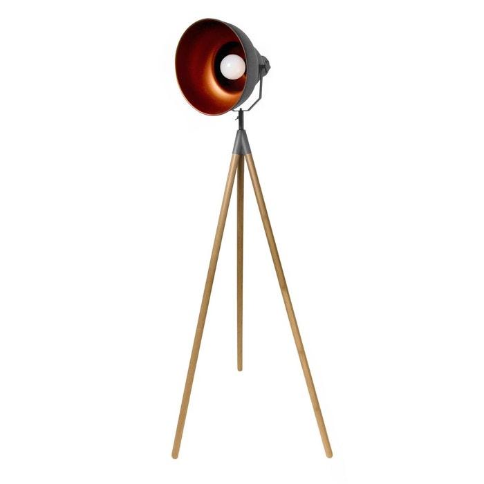 lampadaire tr pied atelier bois rendez vous deco la redoute. Black Bedroom Furniture Sets. Home Design Ideas