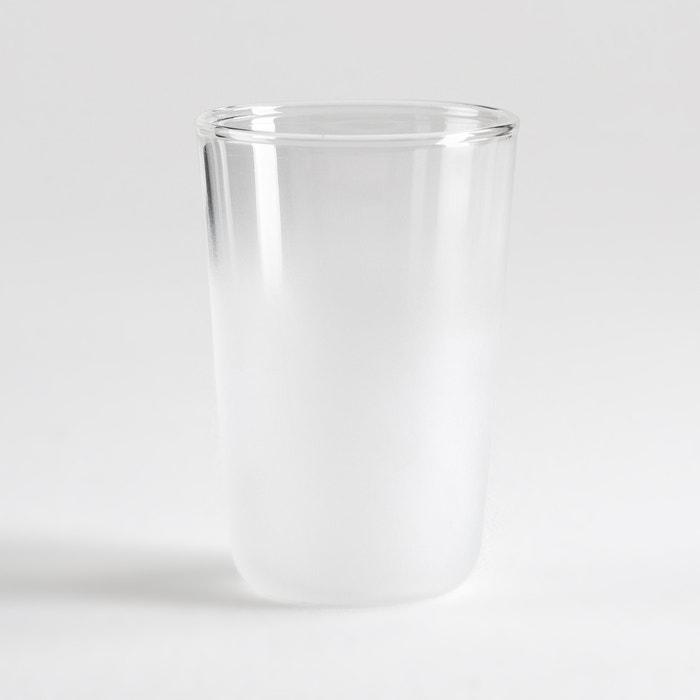Confezione da 4 bicchiere effetto smerigliato, CARAPH  La Redoute Interieurs image 0