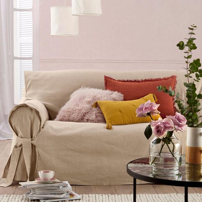 housse de canap lin coton jimi la redoute interieurs la. Black Bedroom Furniture Sets. Home Design Ideas