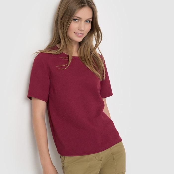 afbeelding Shirt met korte mouwen en rits achteraan R essentiel