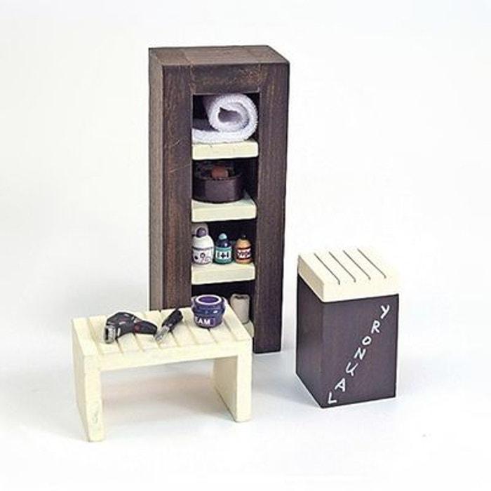 Accessoires pour maison de poupées : Mobilier et accessoires : Meubles de salle d'eau ARTESANIA BEATRIZ