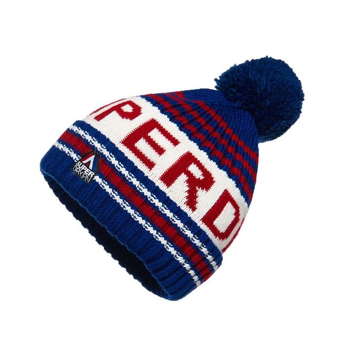 bonnet à logo super sd superdry