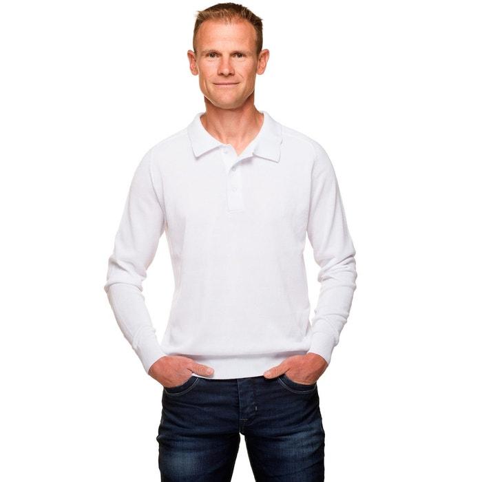 meilleure sélection d3648 9245b Pull homme col polo uni coton mercerisé Ugholin | La Redoute