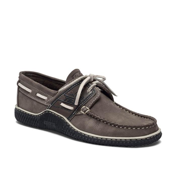 Chaussures bateau cuir GLOBEK