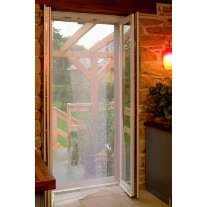 Kit Moustiquaire Pour Porte Blanc Home Maison La Redoute - Moustiquaire pour porte