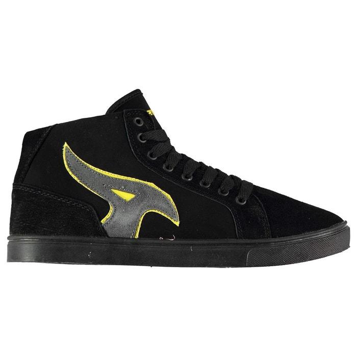 Chaussures montantes cuir nubuck noir/gold Airwalk