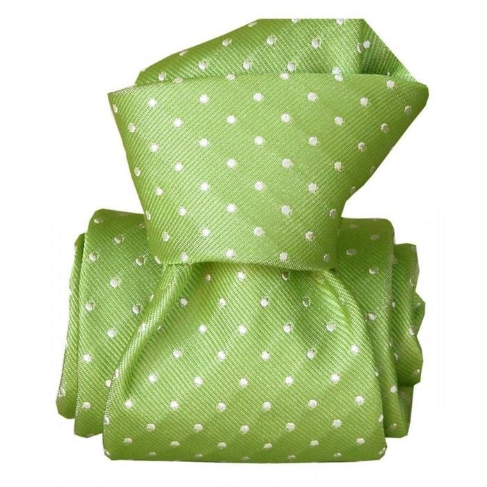 Cravate segni disegni luxe, faite main, artemis vert vert Segni Et Disegni | La Redoute