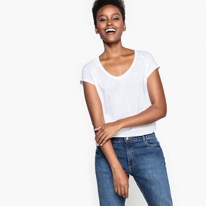 Tee-shirt basique en coton La Redoute Collections