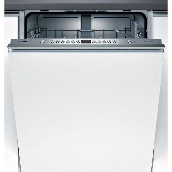 lave vaisselle tout int grable smv46ax01e blanc bosch la redoute. Black Bedroom Furniture Sets. Home Design Ideas
