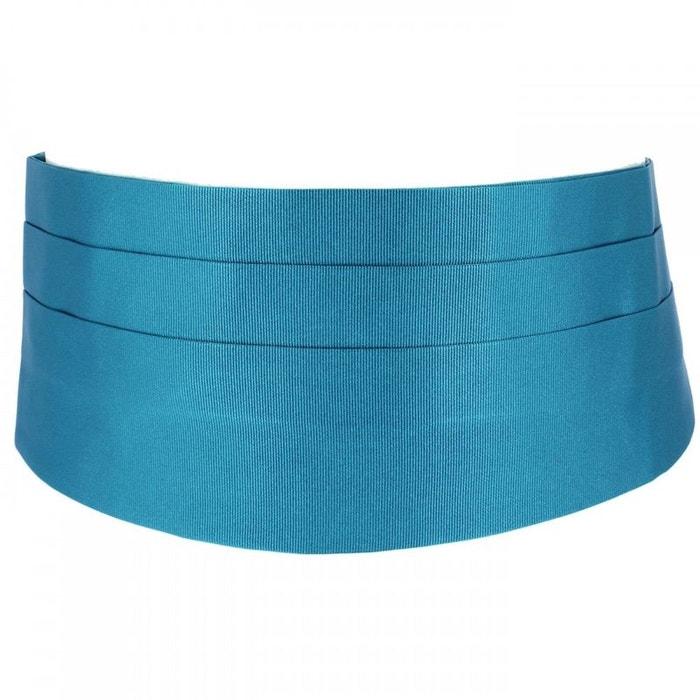 Ceinture smoking en soie, cobalto bleu Tony Et Paul | La Redoute