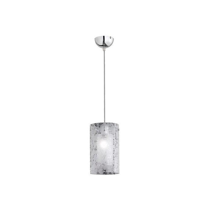 lustre suspension verre regazza argent gris millumine la redoute. Black Bedroom Furniture Sets. Home Design Ideas