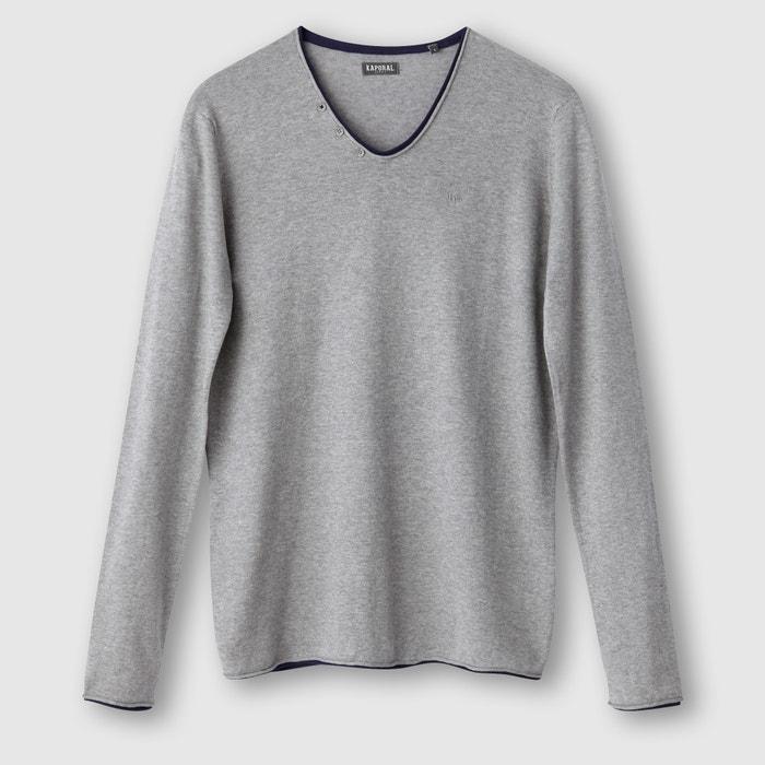 Image Sweter Kerin z dekoltem w kształcie litery V KAPORAL 5