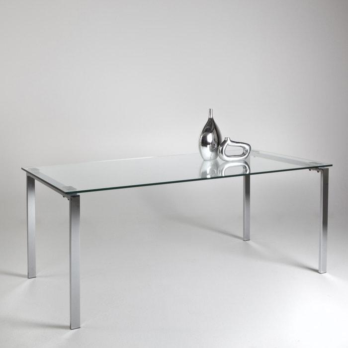 afbeelding Design tafel in metaal en glas, 6 - 8 personen, Joan La Redoute Interieurs