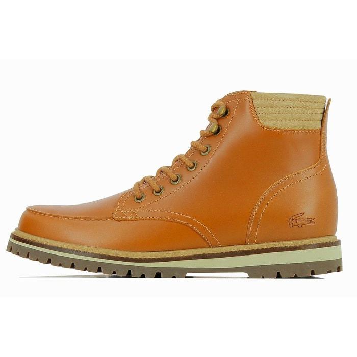Montbard Cuir Boots Lacoste Redoute La Marron 316 qEdxdr