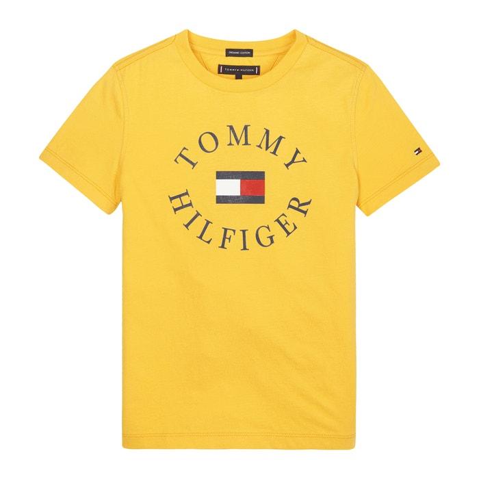 8497221a2 T-shirt em algodão bio, 12-16 anos Tommy Hilfiger | La Redoute