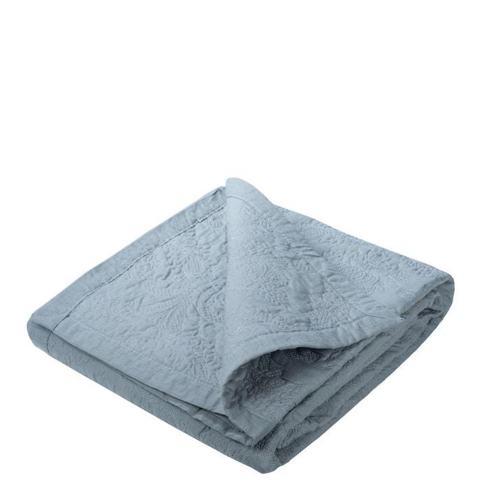 couvre lit matelass coton elise gris perle gris perle madura la redoute. Black Bedroom Furniture Sets. Home Design Ideas