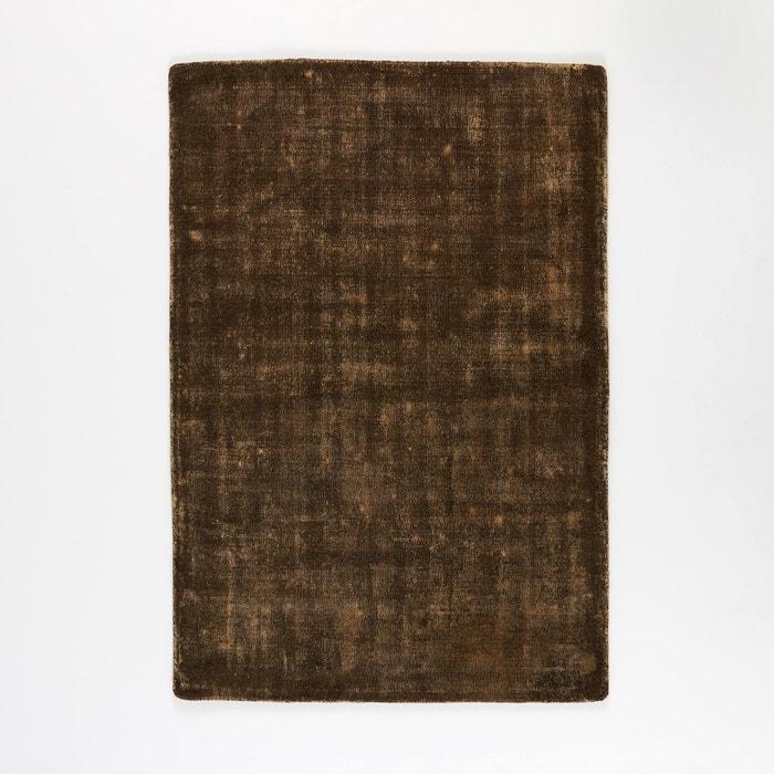 Eberling Two-Tone Khaki/Linen Wool Rug