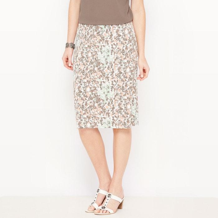 afbeelding Bedrukte rechte rok, soepel tricot ANNE WEYBURN
