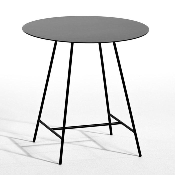 bout de canap gemma design e gallina noir am pm la redoute. Black Bedroom Furniture Sets. Home Design Ideas