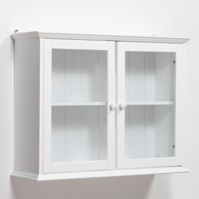 Perrine Solid Pine Display Cabinet  La Redoute Interieurs image 0