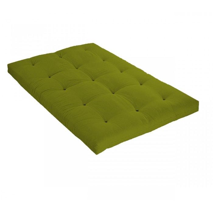 matelas futon vert pistache en latex vert terre de nuit la redoute. Black Bedroom Furniture Sets. Home Design Ideas
