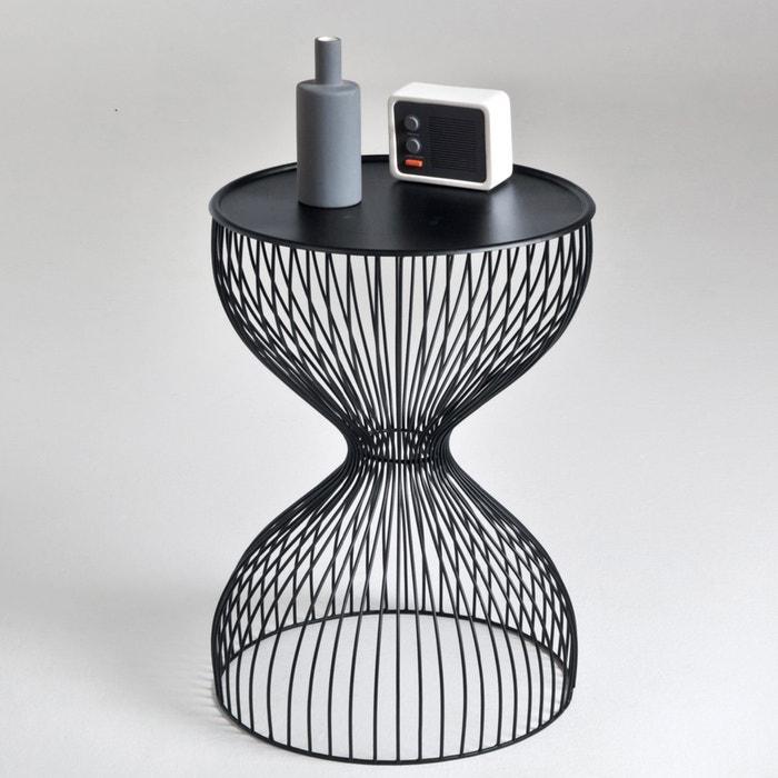 Janik wire cage bedside table la redoute interieurs la - La redoute table cuisine ...
