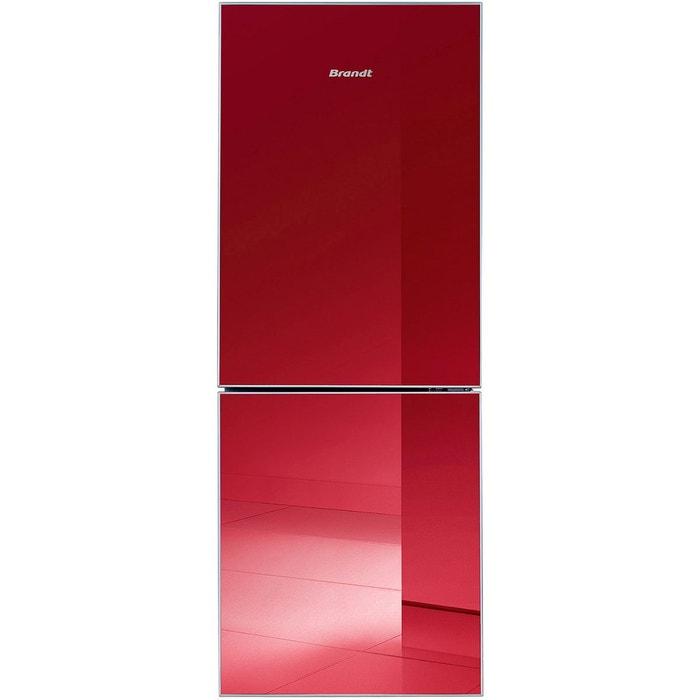 Réfrigérateur-congélateur combiné rouge BFC5555GR