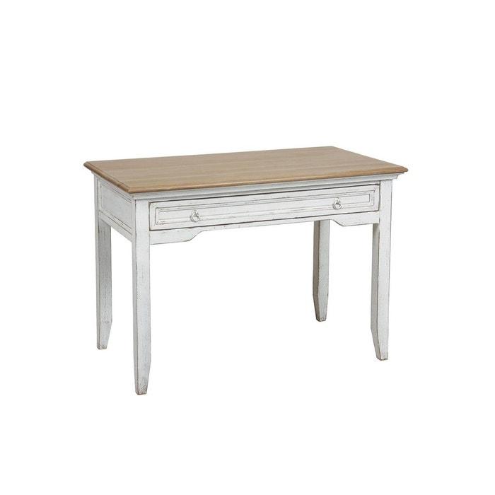 table de bureau chic blanc interior s la redoute. Black Bedroom Furniture Sets. Home Design Ideas