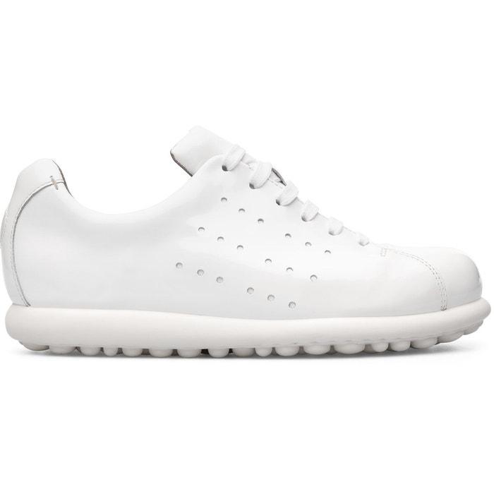 Camper Pelotas  K200038-020 blanc - Chaussures Chaussure-Ville Femme