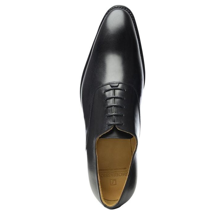 Richelieu en noir noir Shoepassion