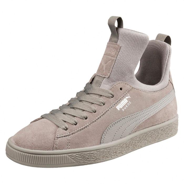 Basket puma suede fierce - 366010-02 gris Puma