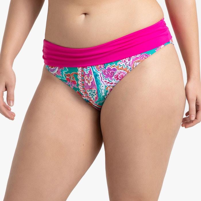 558227688c Bas de maillot de bain culotte effet ventre plat multicolore Castaluna | La  Redoute