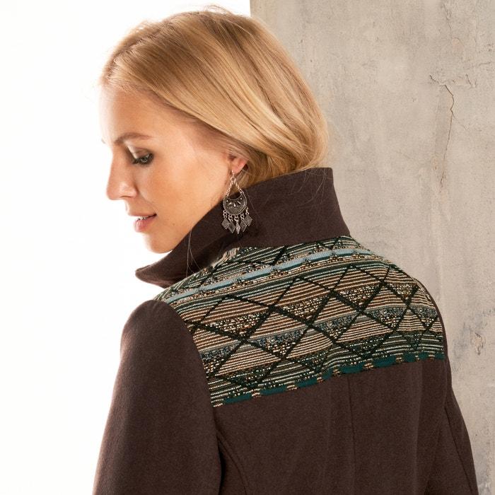 lana de ANNE de pa WEYBURN o Abrigo Y10B8Cx