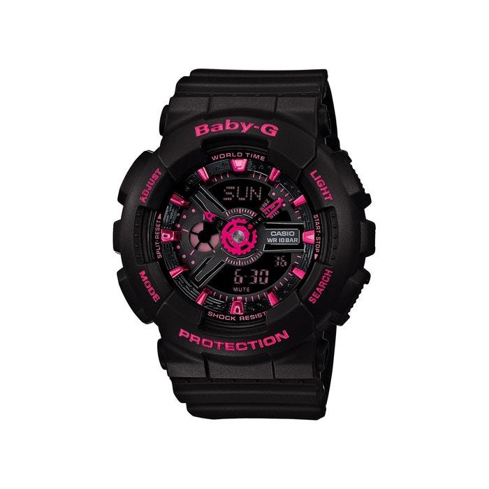 Sortie Avec Ordre Paypal En Ligne Acheter La Vente En Ligne Bg fashion noir Casio | La Redoute 5E1HM5SQ