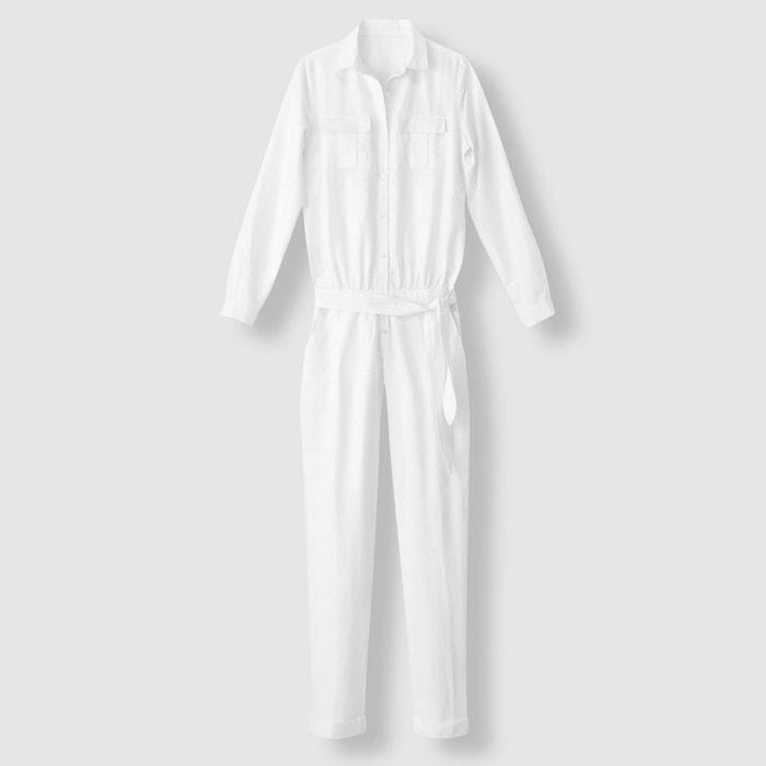 Image Combinaison pantalon lin/coton R essentiel
