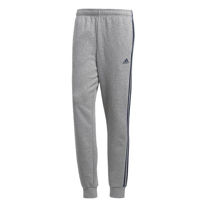 9ba9b45fcc70e Pantalon essentials 3-stripes jogger gris chiné Adidas Performance   La  Redoute