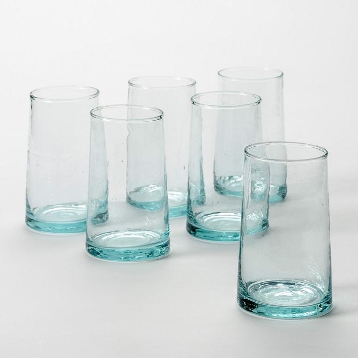 Image Verre à jus en verre soufflé, Gimani (lot de 6) AM.PM.