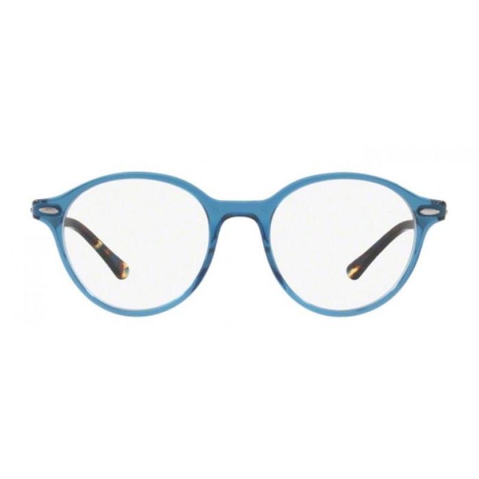 Réduction Trouver Une Grande Lunettes de vue mixte ray ban bleu rx 7118 8022 50/19 bleu Ray Authentique À Vendre 4Fcjiu