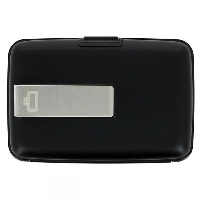 Porte carte Money Clip Ogon Design bleu