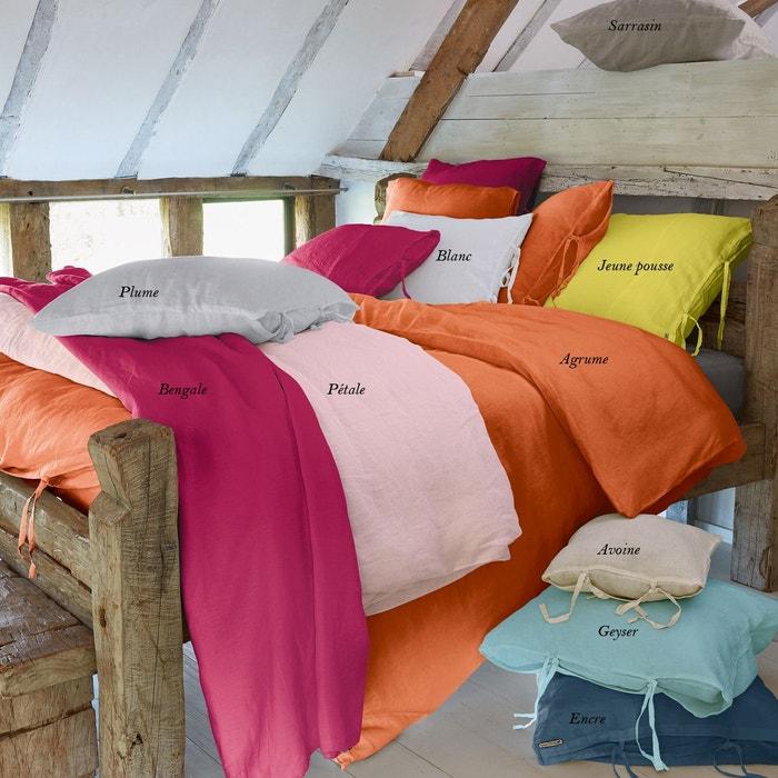 housse de couette lin stone washed sarrasin sylvie thiriez la redoute. Black Bedroom Furniture Sets. Home Design Ideas