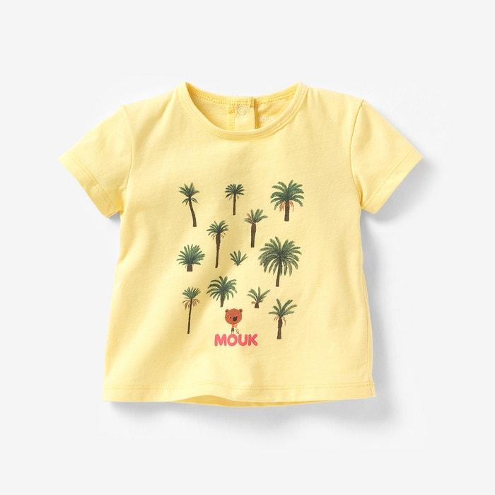 T-shirt MOUK de mangas curtas, 1 mês-3 anos MOUK