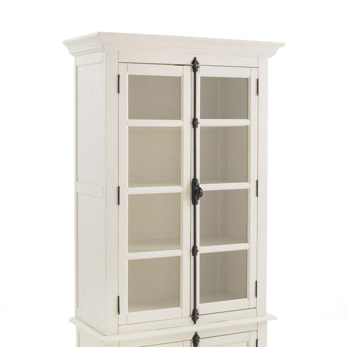 vaisselier 2 portes eulali blanc la redoute interieurs la redoute. Black Bedroom Furniture Sets. Home Design Ideas