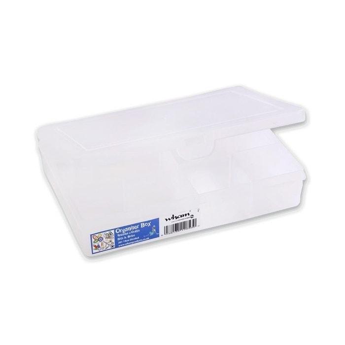 Bo te 7 compartiments transparent compactor la redoute - Boite compactor ...