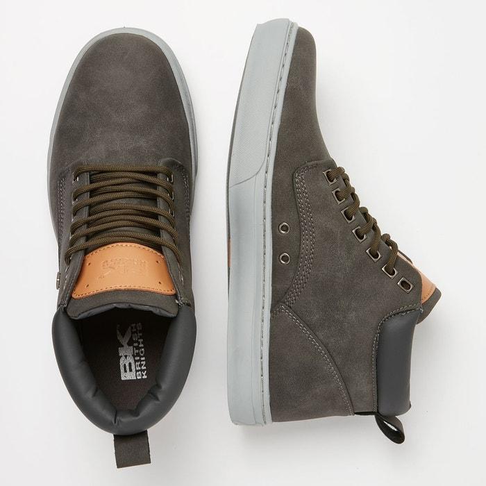 Wood hommes chaussure mi-haute British Knights