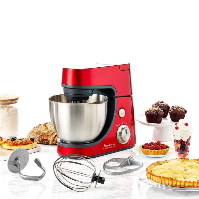 Moulinex Küchenmaschine Masterchef Gourmet Plus: Robot Pâtissier Masterchef Gourmet Qa507gb1 Rouge Moulinex