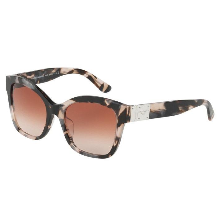 863361ca782f0 Lunettes de soleil dg4309 marron glacé Dolce Gabbana   La Redoute
