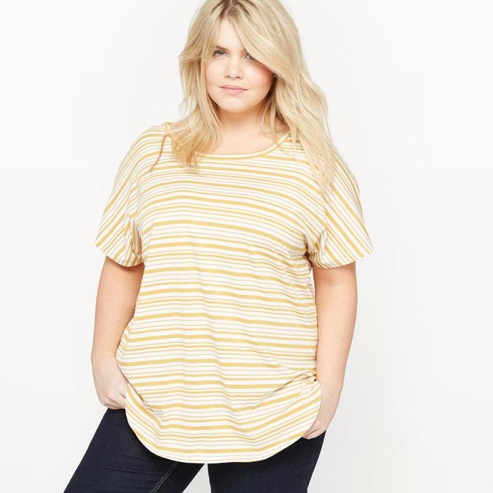 T-Shirt with Stylish Back  CASTALUNA PLUS SIZE image 0