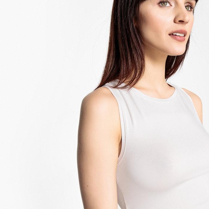 La Redoute tipo con espalda Collections Camiseta sin nadador mangas rrxw0fqdnR
