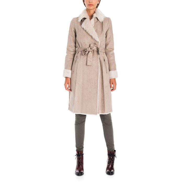 Top Manteau peau de mouton long beige Salsa | La Redoute KR94