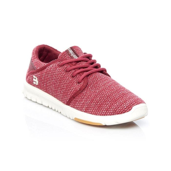 9f6f8dc5ede00 Chaussures femme scout rouge Etnies | La Redoute